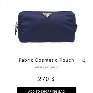 Prada Fabric Pouch
